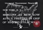 Image of Cold wave New York United States USA, 1934, second 4 stock footage video 65675041266