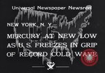 Image of Cold wave New York United States USA, 1934, second 5 stock footage video 65675041266