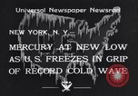 Image of Cold wave New York United States USA, 1934, second 6 stock footage video 65675041266