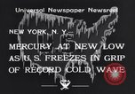 Image of Cold wave New York United States USA, 1934, second 8 stock footage video 65675041266