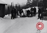 Image of Bobsled Lake Placid New York USA, 1934, second 12 stock footage video 65675041268