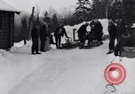 Image of Bobsled Lake Placid New York USA, 1934, second 14 stock footage video 65675041268