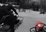 Image of Bobsled Lake Placid New York USA, 1934, second 16 stock footage video 65675041268