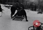 Image of Bobsled Lake Placid New York USA, 1934, second 17 stock footage video 65675041268