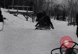 Image of Bobsled Lake Placid New York USA, 1934, second 18 stock footage video 65675041268