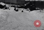 Image of Bobsled Lake Placid New York USA, 1934, second 59 stock footage video 65675041268