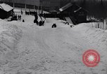 Image of Bobsled Lake Placid New York USA, 1934, second 60 stock footage video 65675041268