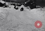 Image of Bobsled Lake Placid New York USA, 1934, second 61 stock footage video 65675041268