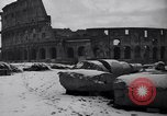 Image of Snow fall Rome Italy, 1935, second 50 stock footage video 65675041271