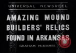 Image of Removal of ancient relics from Spiro mounds Arkansas United States USA, 1936, second 1 stock footage video 65675041281