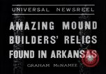 Image of Removal of ancient relics from Spiro mounds Arkansas United States USA, 1936, second 2 stock footage video 65675041281