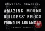 Image of Removal of ancient relics from Spiro mounds Arkansas United States USA, 1936, second 3 stock footage video 65675041281