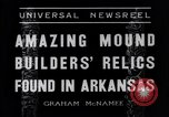 Image of Removal of ancient relics from Spiro mounds Arkansas United States USA, 1936, second 4 stock footage video 65675041281