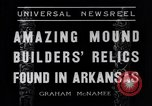 Image of Removal of ancient relics from Spiro mounds Arkansas United States USA, 1936, second 5 stock footage video 65675041281