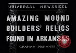 Image of Removal of ancient relics from Spiro mounds Arkansas United States USA, 1936, second 6 stock footage video 65675041281