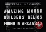 Image of Removal of ancient relics from Spiro mounds Arkansas United States USA, 1936, second 7 stock footage video 65675041281