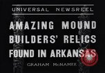 Image of Removal of ancient relics from Spiro mounds Arkansas United States USA, 1936, second 8 stock footage video 65675041281