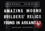Image of Removal of ancient relics from Spiro mounds Arkansas United States USA, 1936, second 12 stock footage video 65675041281