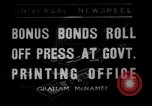 Image of Government printing office Washington DC USA, 1936, second 1 stock footage video 65675041293