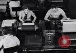 Image of Government printing office Washington DC USA, 1936, second 19 stock footage video 65675041293