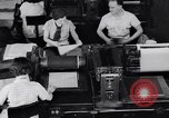 Image of Government printing office Washington DC USA, 1936, second 22 stock footage video 65675041293