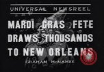 Image of Mardi Gras New Orleans Louisiana USA, 1936, second 8 stock footage video 65675041294