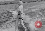 Image of surf board Balboa Newport Beach California USA, 1936, second 59 stock footage video 65675041295