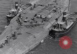 Image of war ship Rosyth Scotland, 1936, second 15 stock footage video 65675041303