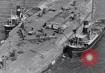 Image of war ship Rosyth Scotland, 1936, second 18 stock footage video 65675041303