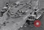 Image of war ship Rosyth Scotland, 1936, second 19 stock footage video 65675041303