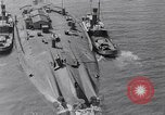 Image of war ship Rosyth Scotland, 1936, second 21 stock footage video 65675041303