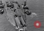 Image of war ship Rosyth Scotland, 1936, second 23 stock footage video 65675041303