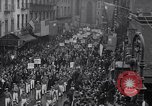 Image of Protest parade New York City USA, 1938, second 10 stock footage video 65675041309