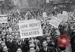 Image of Protest parade New York City USA, 1938, second 13 stock footage video 65675041309
