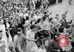 Image of Protest parade New York City USA, 1938, second 17 stock footage video 65675041309