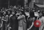 Image of Protest parade New York City USA, 1938, second 29 stock footage video 65675041309