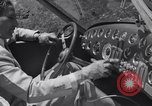 Image of modern streamlined concept car Reseda California USA, 1938, second 13 stock footage video 65675041316