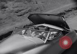 Image of modern streamlined concept car Reseda California USA, 1938, second 32 stock footage video 65675041316
