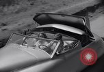 Image of modern streamlined concept car Reseda California USA, 1938, second 34 stock footage video 65675041316