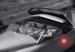 Image of modern streamlined concept car Reseda California USA, 1938, second 35 stock footage video 65675041316
