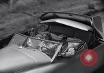 Image of modern streamlined concept car Reseda California USA, 1938, second 36 stock footage video 65675041316