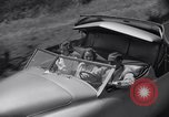 Image of modern streamlined concept car Reseda California USA, 1938, second 37 stock footage video 65675041316