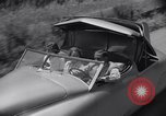 Image of modern streamlined concept car Reseda California USA, 1938, second 38 stock footage video 65675041316