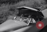 Image of modern streamlined concept car Reseda California USA, 1938, second 39 stock footage video 65675041316