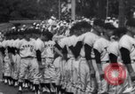 Image of Los Angeles Dodgers vs Tokyo Giants pre-season baseball game Vero Beach Florida USA, 1967, second 21 stock footage video 65675041326