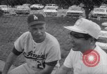 Image of Los Angeles Dodgers vs Tokyo Giants pre-season baseball game Vero Beach Florida USA, 1967, second 28 stock footage video 65675041326