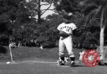 Image of Los Angeles Dodgers vs Tokyo Giants pre-season baseball game Vero Beach Florida USA, 1967, second 30 stock footage video 65675041326