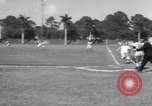 Image of Los Angeles Dodgers vs Tokyo Giants pre-season baseball game Vero Beach Florida USA, 1967, second 33 stock footage video 65675041326