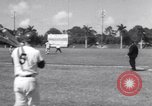 Image of Los Angeles Dodgers vs Tokyo Giants pre-season baseball game Vero Beach Florida USA, 1967, second 35 stock footage video 65675041326