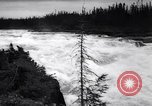 Image of power plant Labrador Canada, 1967, second 8 stock footage video 65675041330